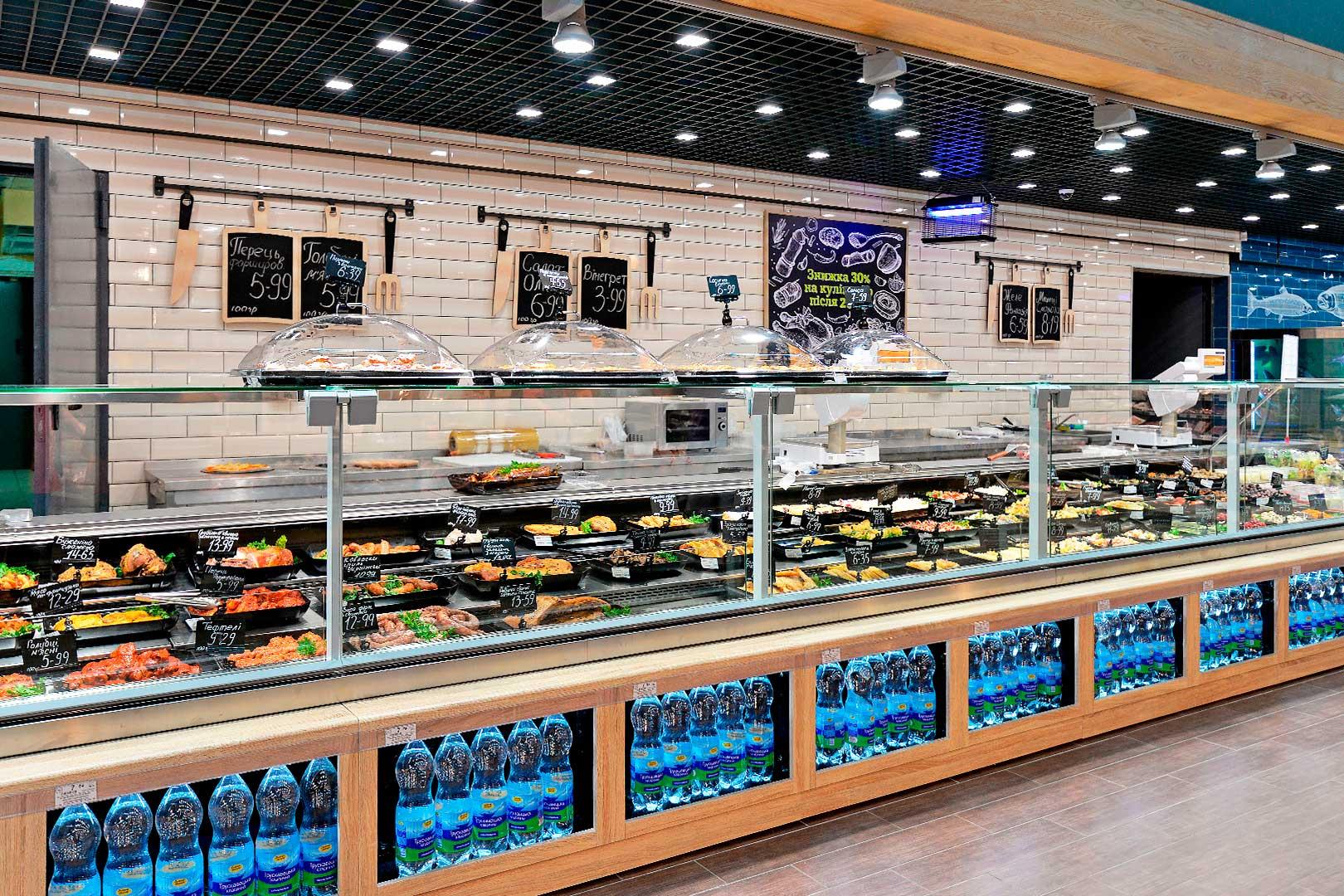 Sypermarket EKO-MARKET, Kiev, Ukraine