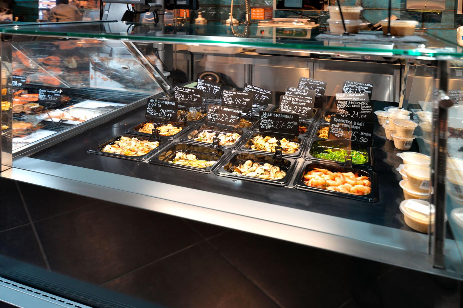 "Counters ""Missouri MC 120 salads PP M"""