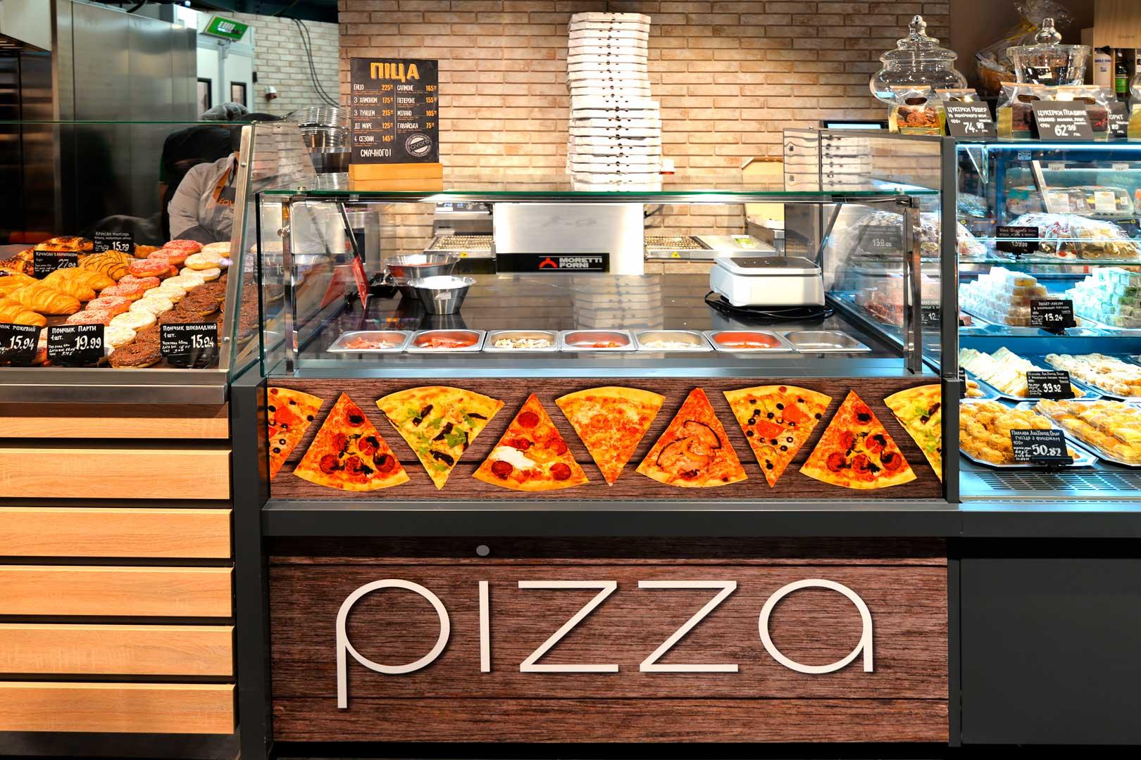 "Counters ""Missouri MC 120 sushi/pizza PP 130-DBM"""