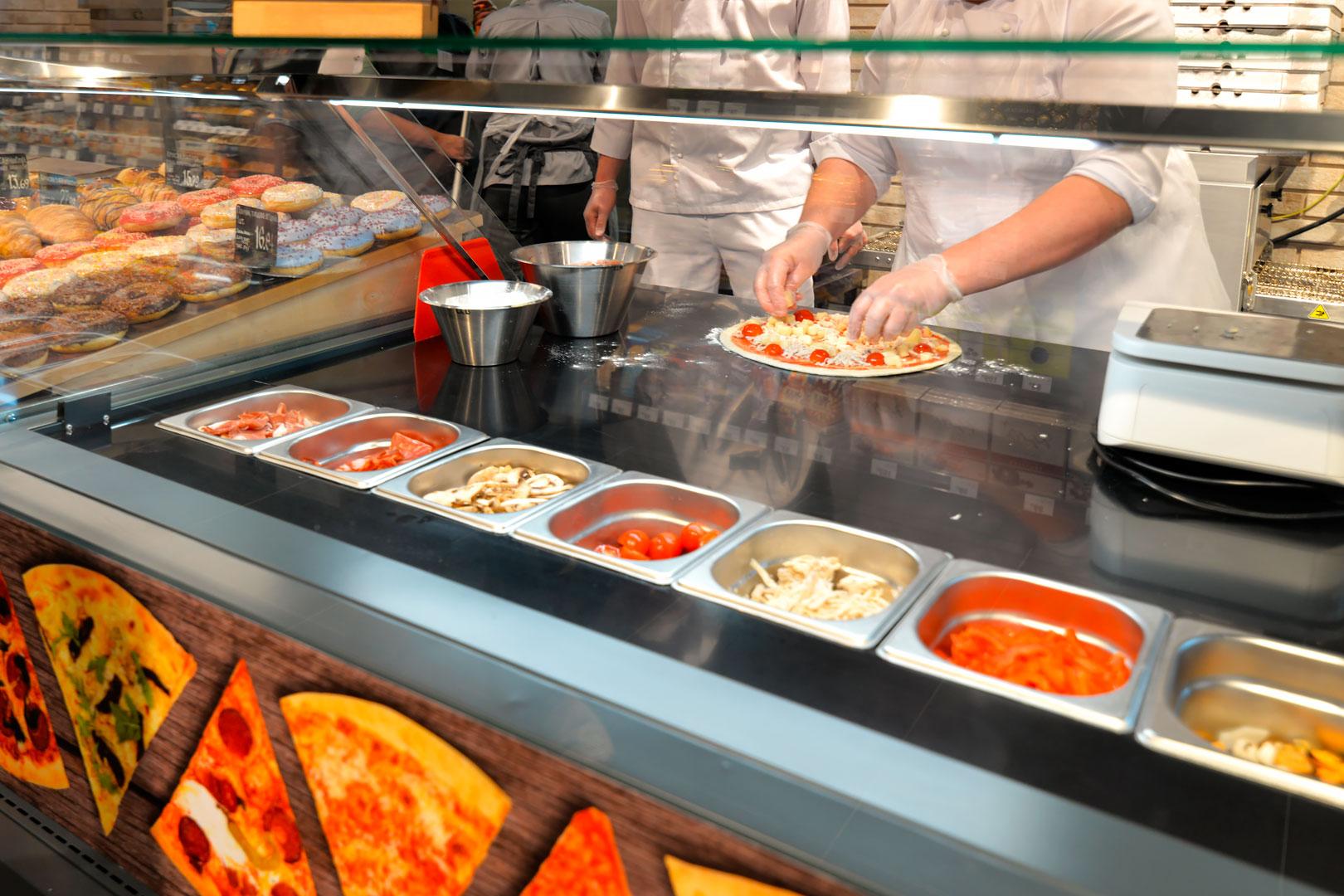 Витрины Мissouri MC 120 sushi/pizza PP 130-DBМ