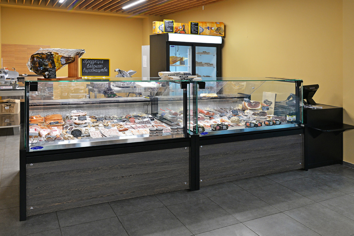 Refrigerated display cabinets Missouri A PS