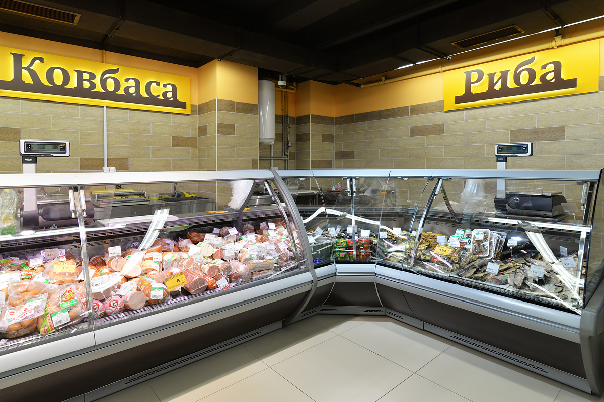 Refrigerated display cases Symphony self, Symphony PS