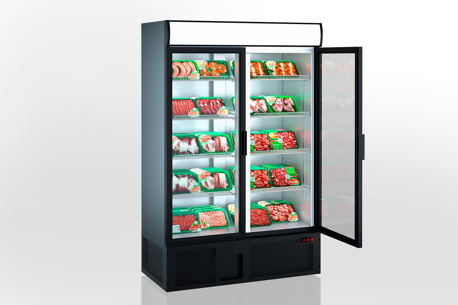 Холодильные шкафы Kansas A1SG 065/075/085 HT/MT 2HD 210-D1000/D1200/D1600 A-132