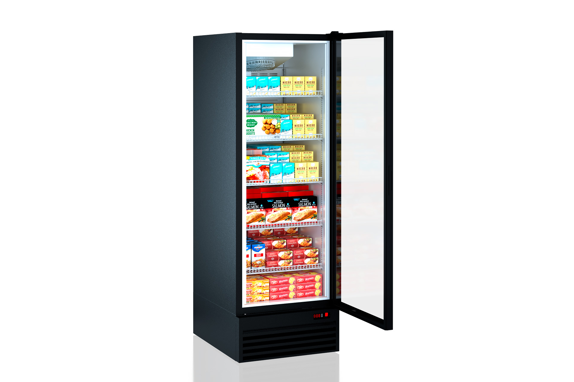 Холодильные шкафы Kansas 5 A1SG 087 LT 1HD 210-D700A-069