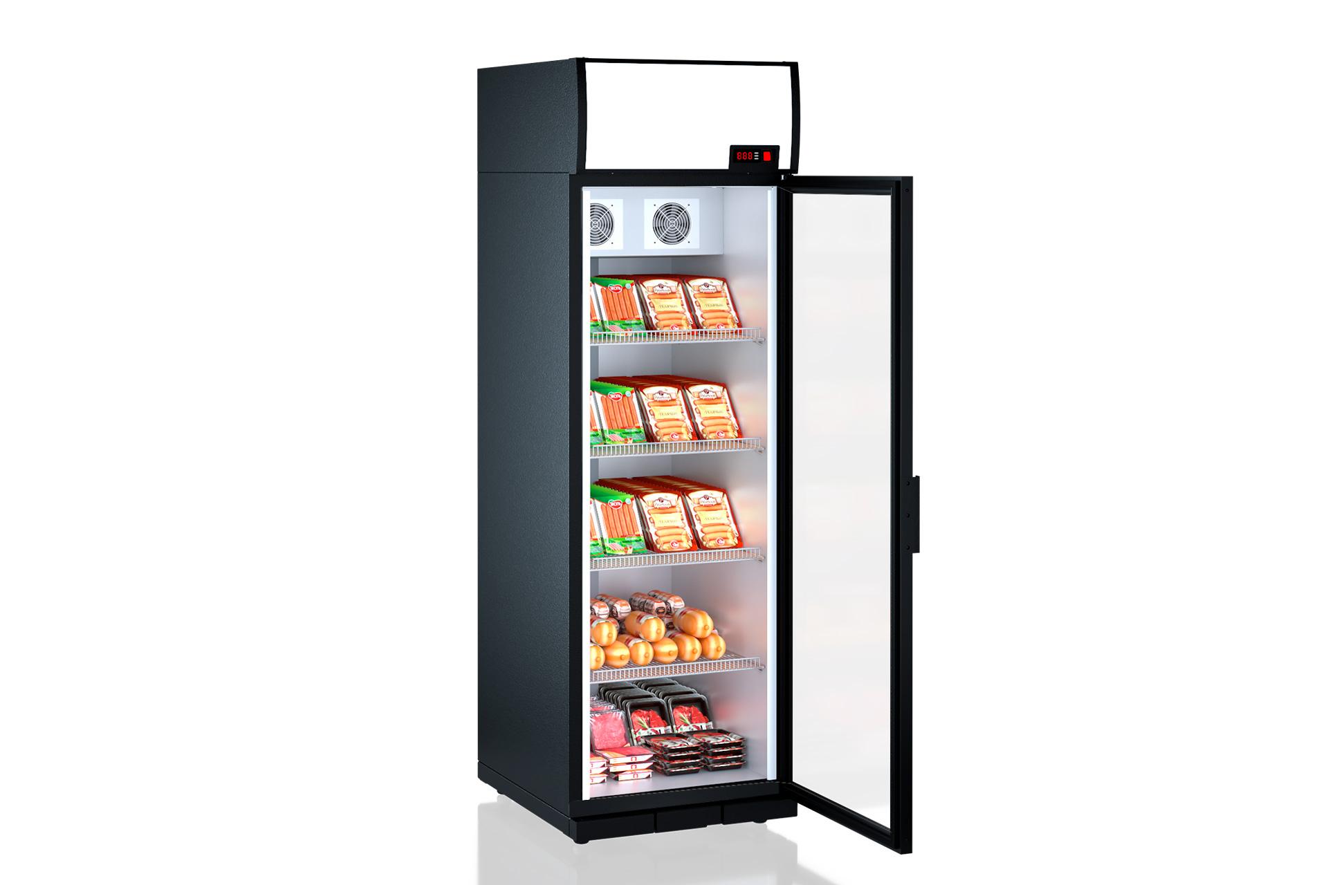 Холодильні шафи Kansas A1SG 065/075 MT/HT 1HD 210-D500/D600A-065