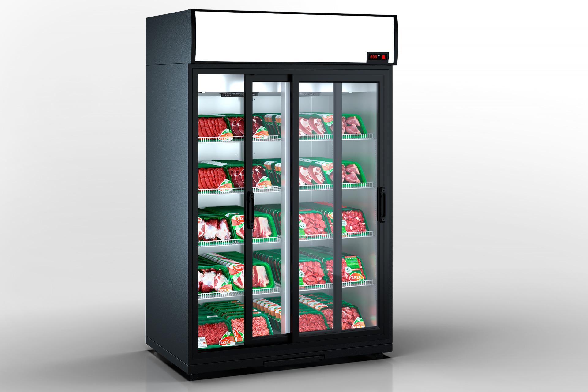Refrigerated cabinets Kansas VА1SG 080 HT SD 210-D1200A-132
