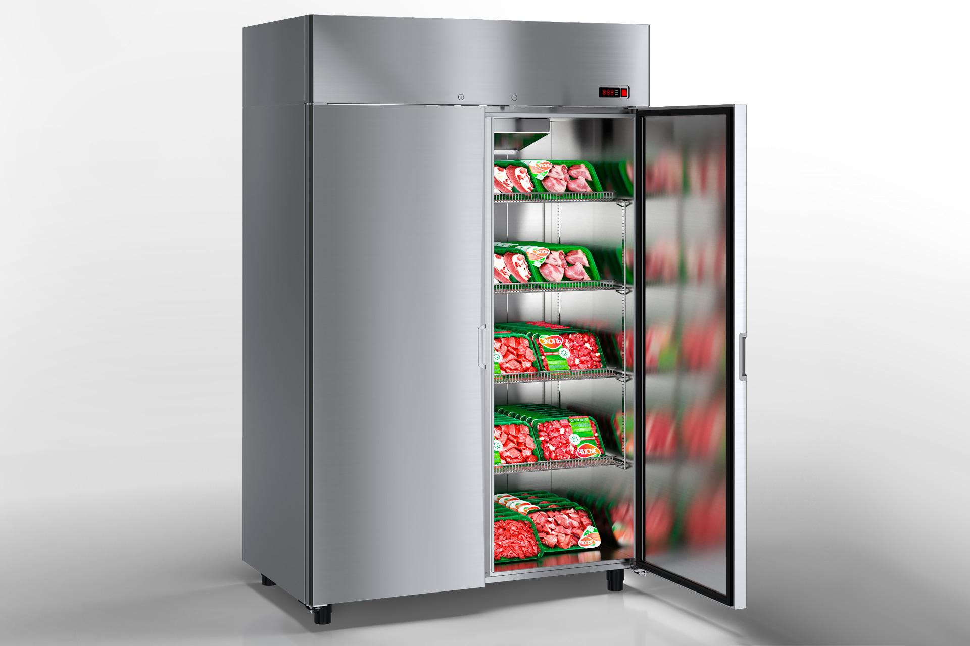 Холодильні шафи Kansas VAZG 066/076/086 HT 2HD 210-D1100/D1300/D1500A-132