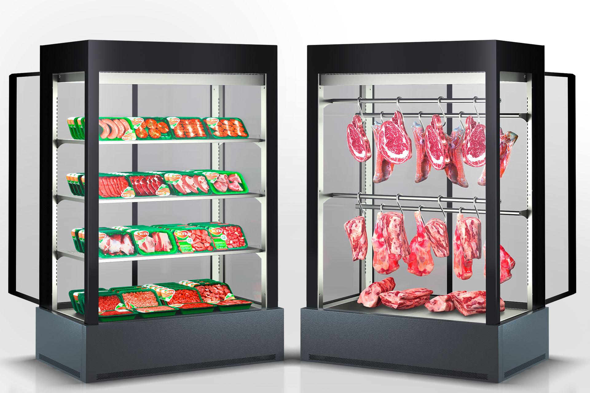 Холодильні шафи Kansas А4SG 078 meat 2HD