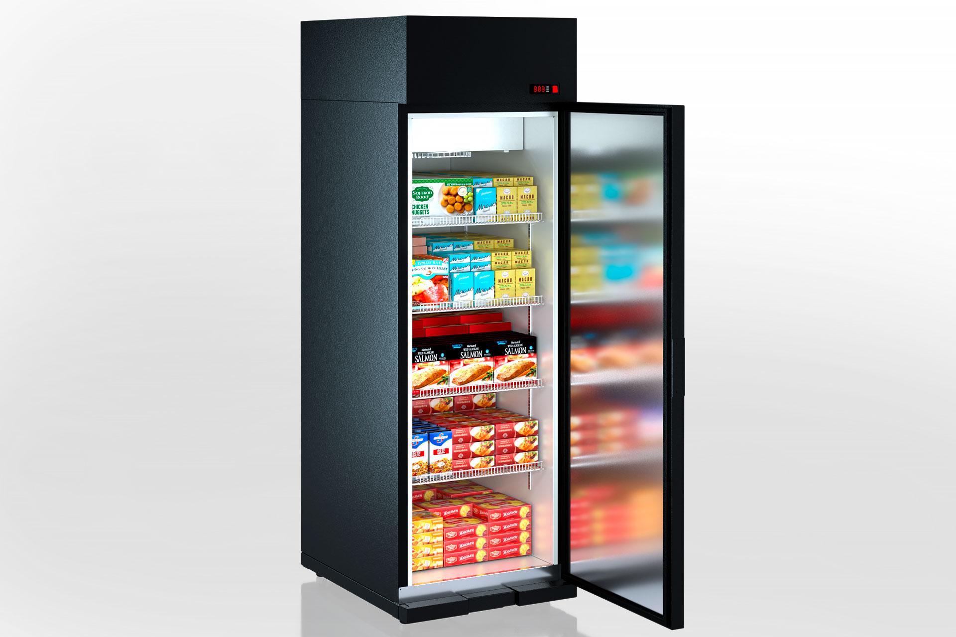 Витрины для замороженных продуктов Kansas VАZG085 MT 1HD 210-D700A-065