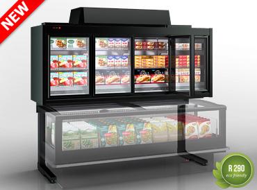 Вітрини для заморожених продуктів Kansas HLT VA AV 077 LT D 239-DLA
