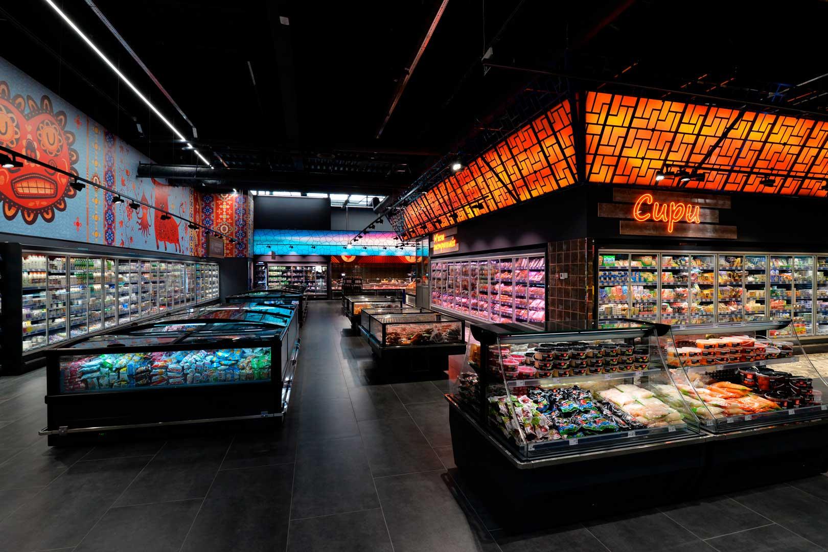 "Promotional merchandiser Virginia AI 120 deli self A, supermarket ""Epicentr"" Kiev"