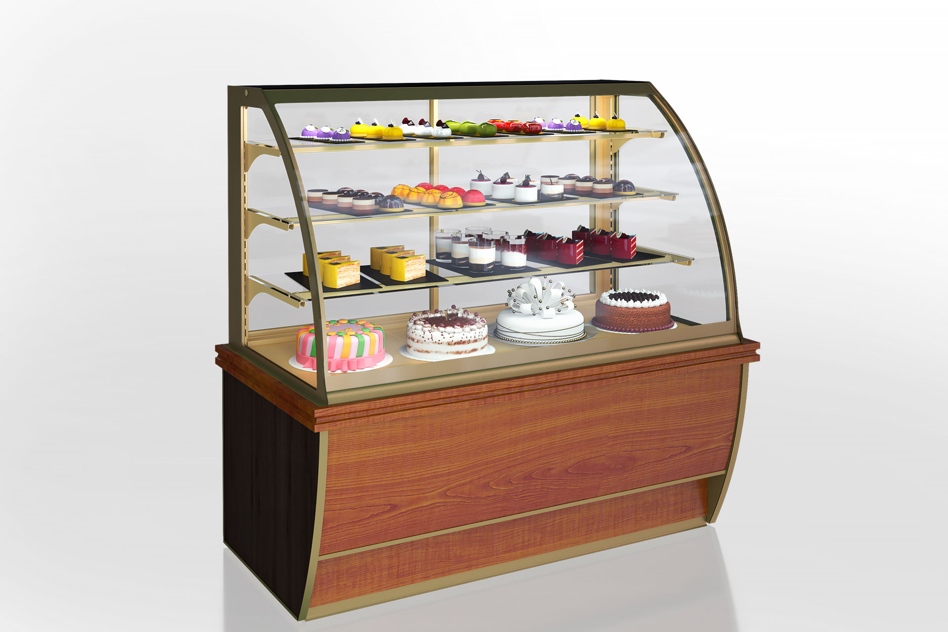 Confectionery counters Dakota AG 085 patisserie OS 150-DLA
