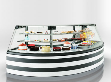 Confectionery counters Dakota Sapphire KA 090 patisserie PS 140-DLA-ER35