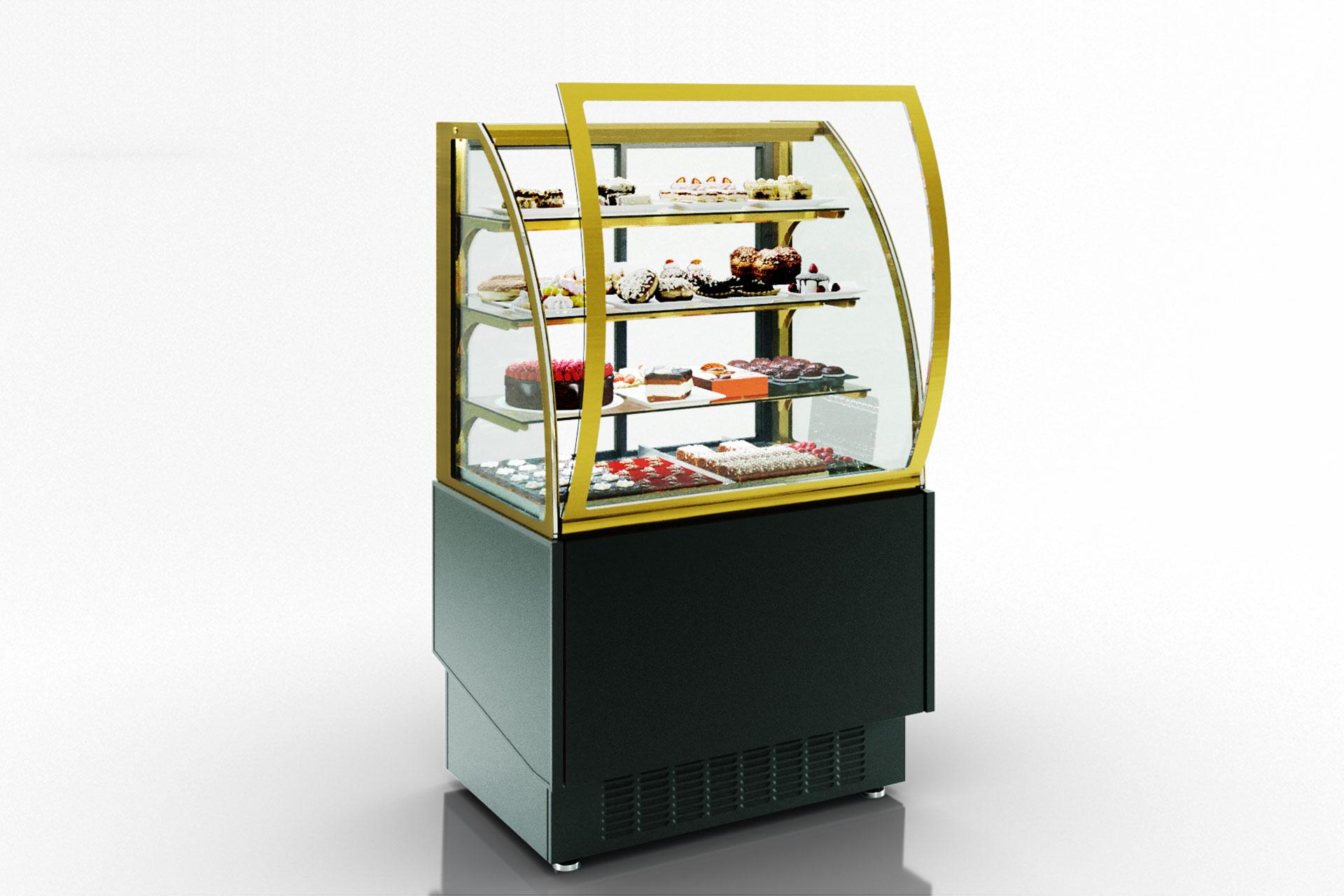 Кондитерские витрины Dakota snack AG 080 patisserie OS 160-DBA