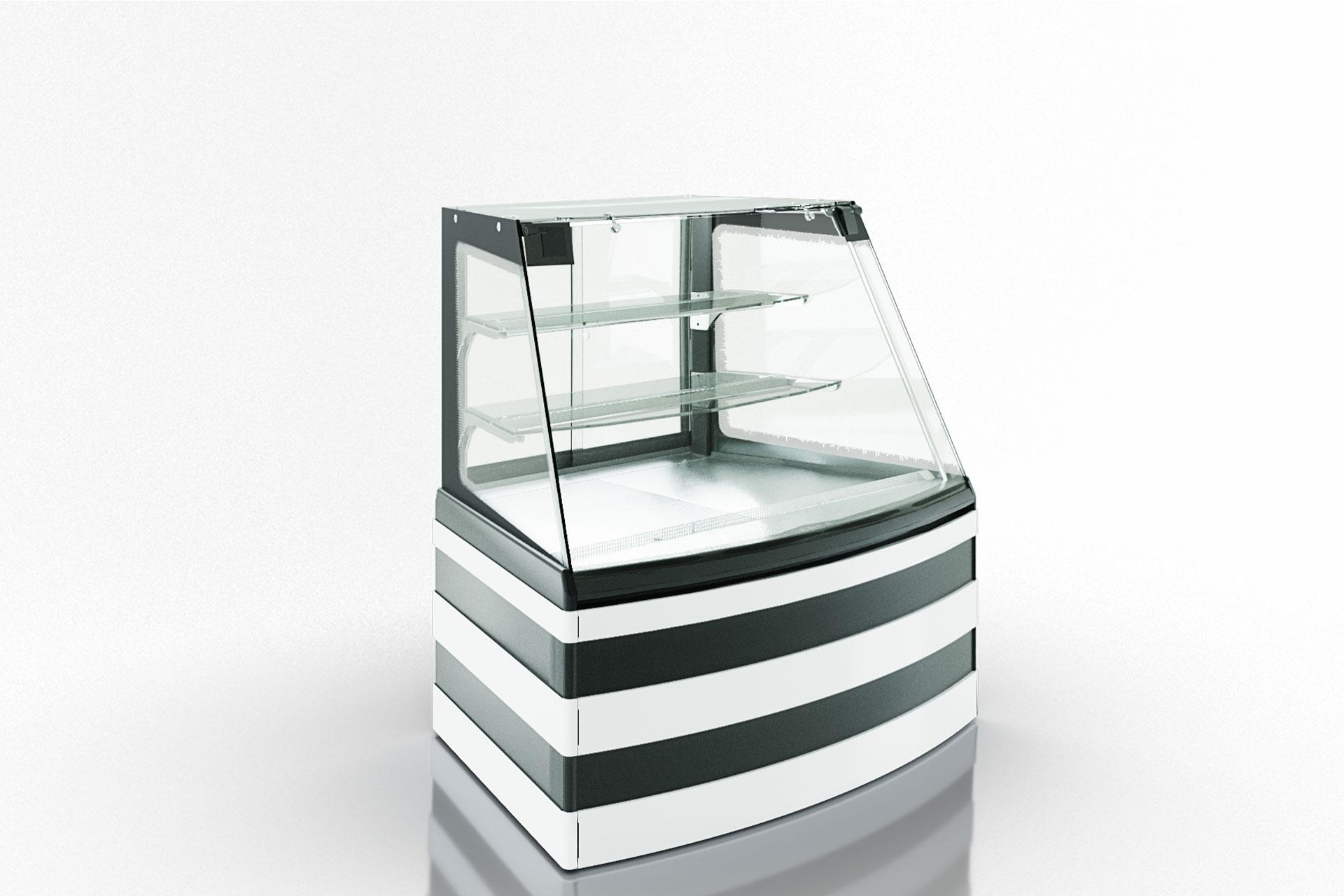 Konditorei-Vitrinen Dakota sapphire KA 090 patisserie PS 140-DLA-ER35 - Winkelelement - option