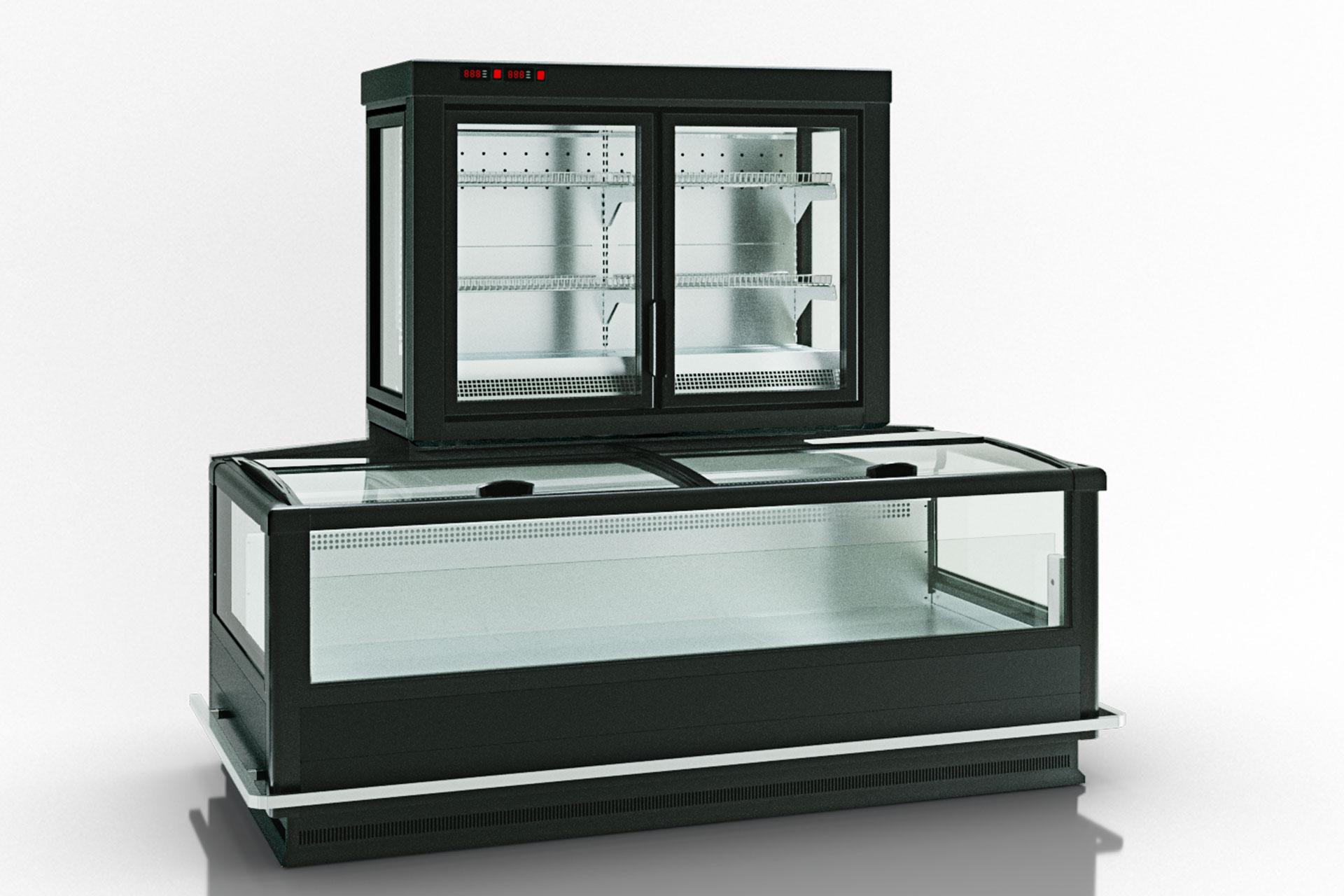 Витрина для замороженных продуктов Alaska combi 2 MD MHV 110 LT D/C 200-DLM-TL