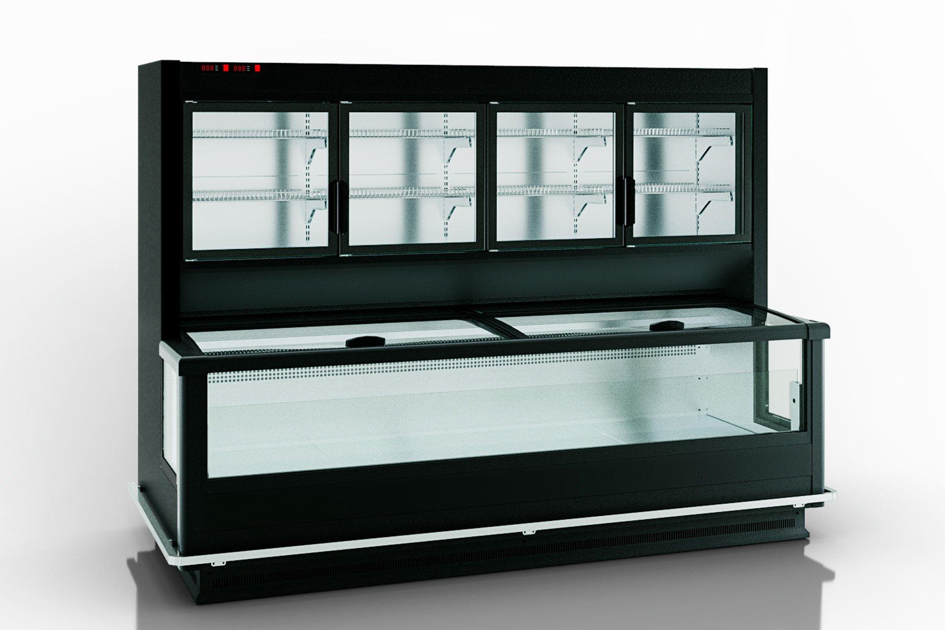 Витрины для замороженных продуктов Alaska combi 2 SD MHV 110 LT D/C 200-DLM