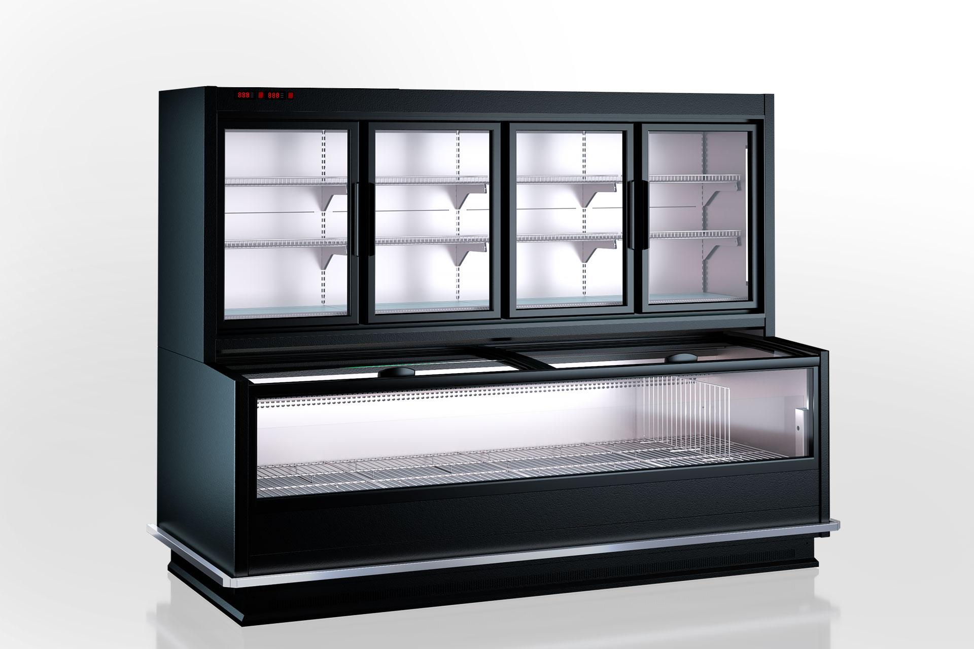 Витрины для замороженных продуктов Alaska combi MHV 110 LT D/C 200-DLM