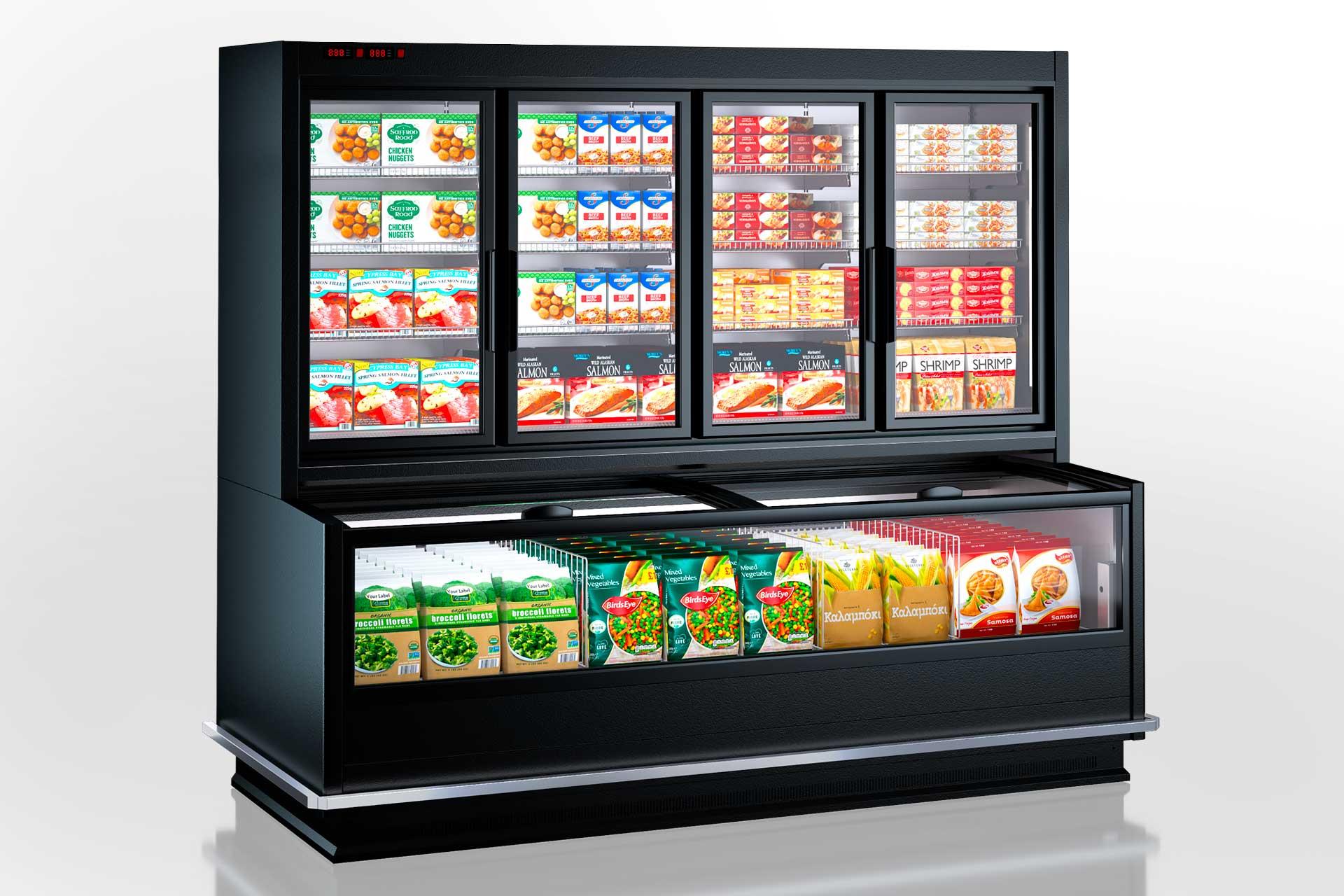 Вітрини для заморожених продуктів Alaska combi MHV 110 LT D/C 220-DLM