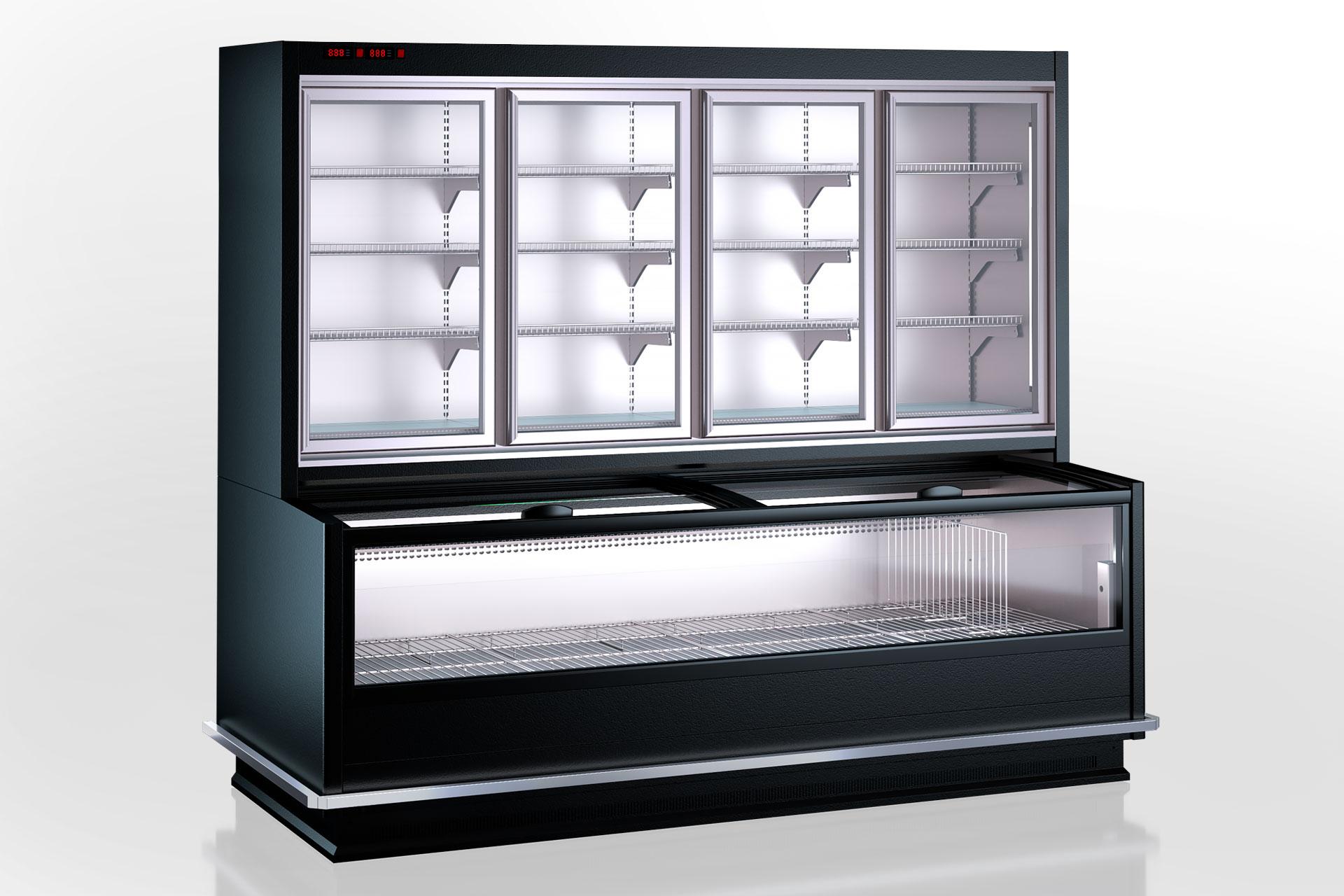 Витрины для замороженных продуктов Alaska combi MHV 110 LT D/C 220-DLM