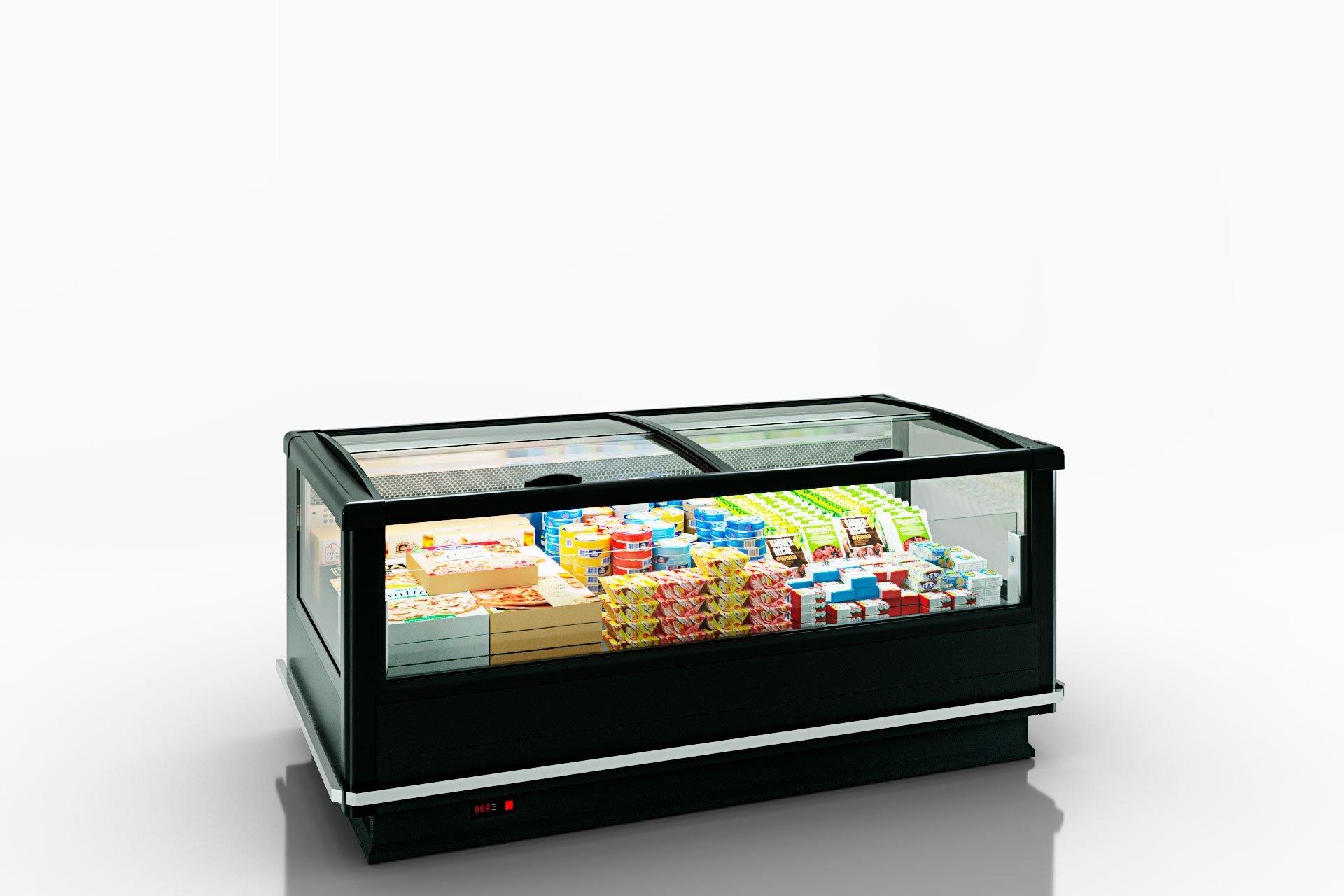 Витрины для замороженных продуктов Alaska wall MV 100 LT C M