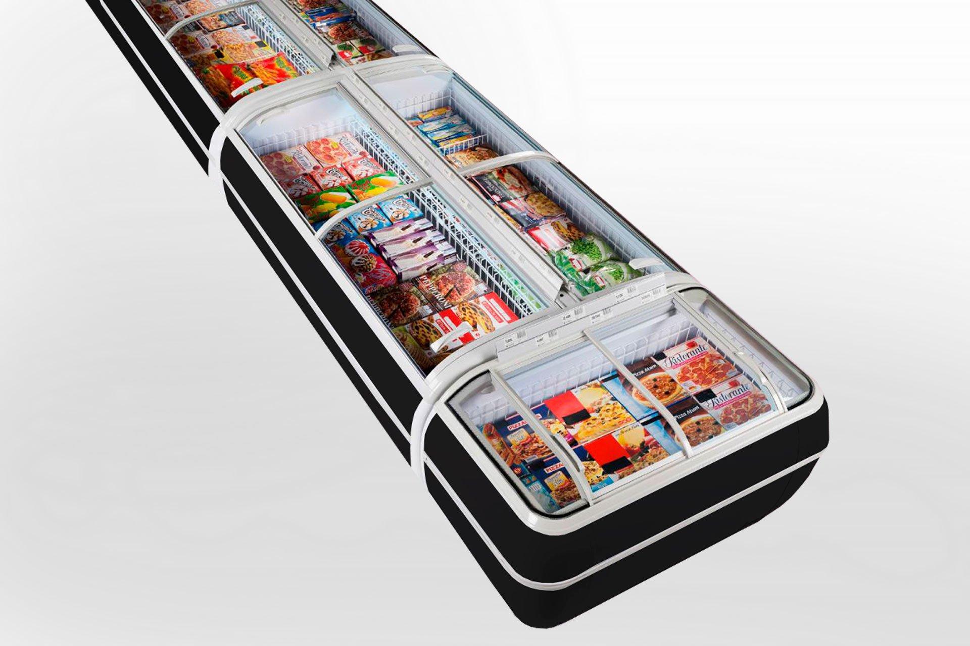 Витрины для замороженных продуктов Dupla AH 147 LT C 093-SLA