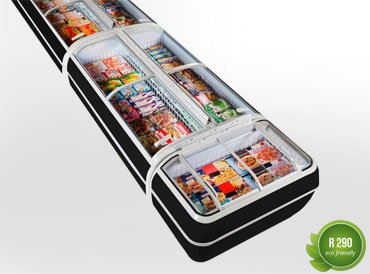 Frozen foods units Dupla AH 147 LT C 093-SLA