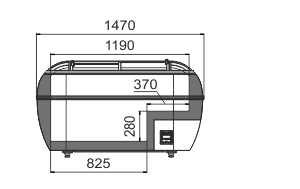 Vitrinen für Gefriergüter Dupla AH 147 LT C 093-SLA