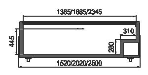 Vitrinen für Gefriergüter Super AH 092 LT C 079-SLA