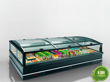 Frozen foods units Yukon cube AH 200 LT C 088-SLA