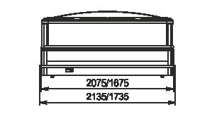 Вітрини для заморожених продуктів Yukon cube MH 160-200 LT C 088-DLM TL