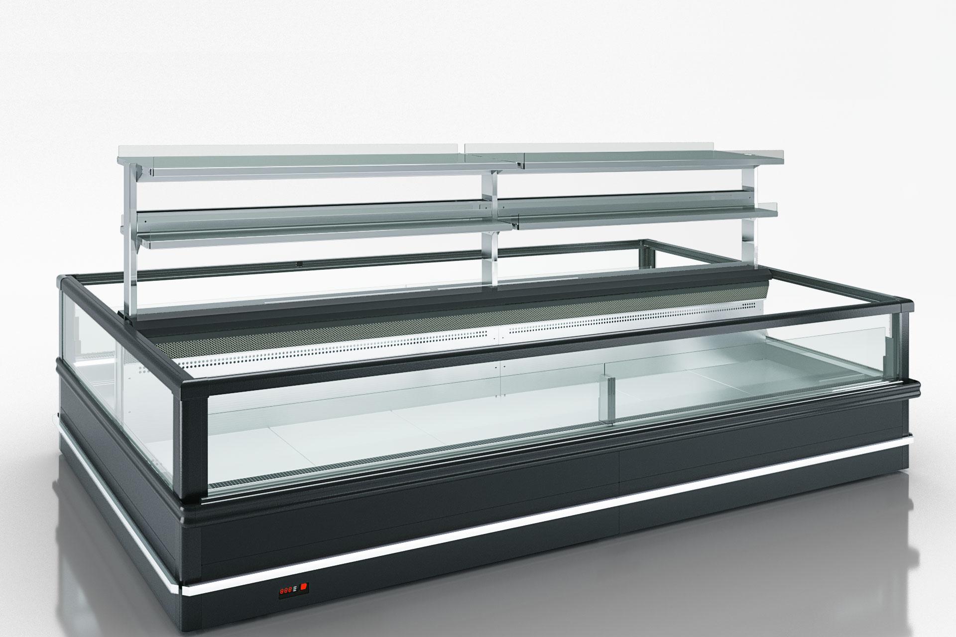 Витрина для замороженных продуктов 2 Yukon MH 200 LT О 088-DLM с суперструктурой