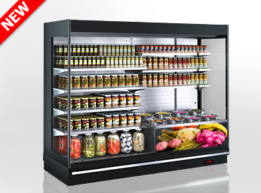 Refrigerated multideck cabinets Louisiana MV 095 pickles MT О M