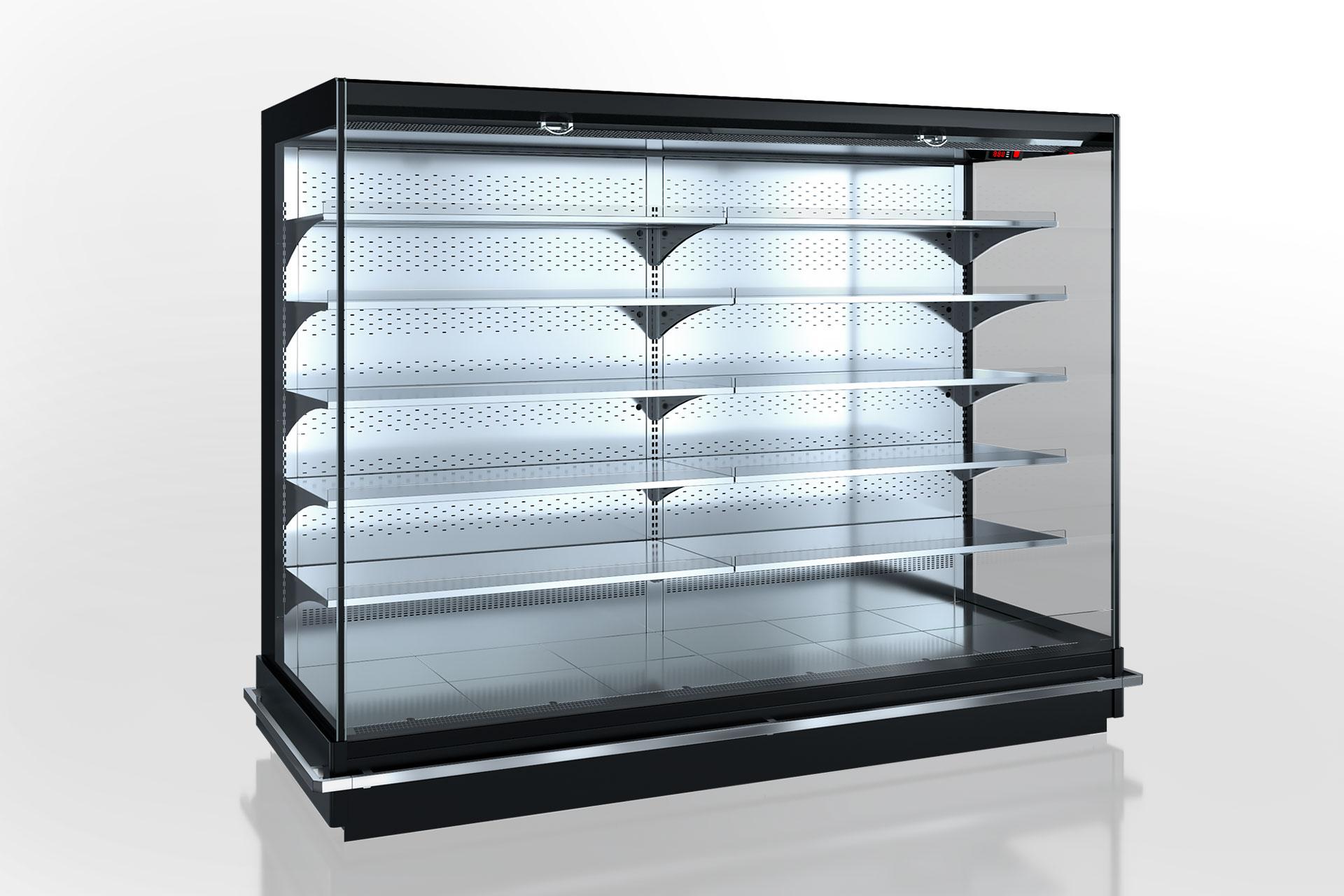 Холодильнные пристенные витрины Indiana 2 MV 080 MT O 205-DLM