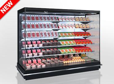 Холодильні пристінні вітрини Indiana 2 MV 080/090 MT O 205-DLM