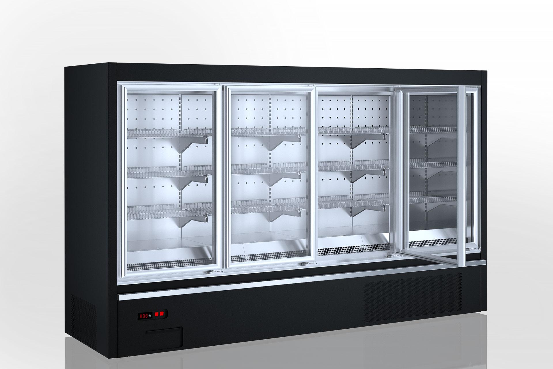 Холодильні напіввертикальні вітрини Indiana eco AV 070 LT D 160-DLM/DLA