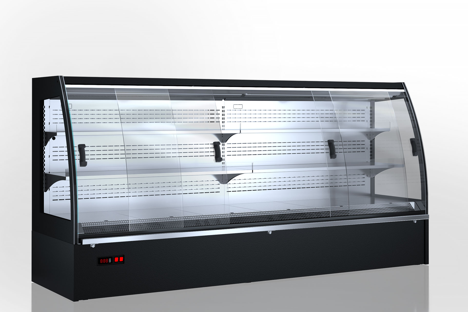 Полувертикальные витрины Indiana eco MSV 070 MT D 130-DLM