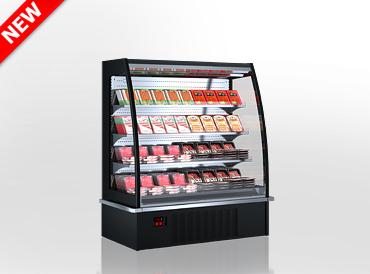 Холодильні напіввертикальні вітрини Indiana eco ASV 2 070 MT O 160-DLA
