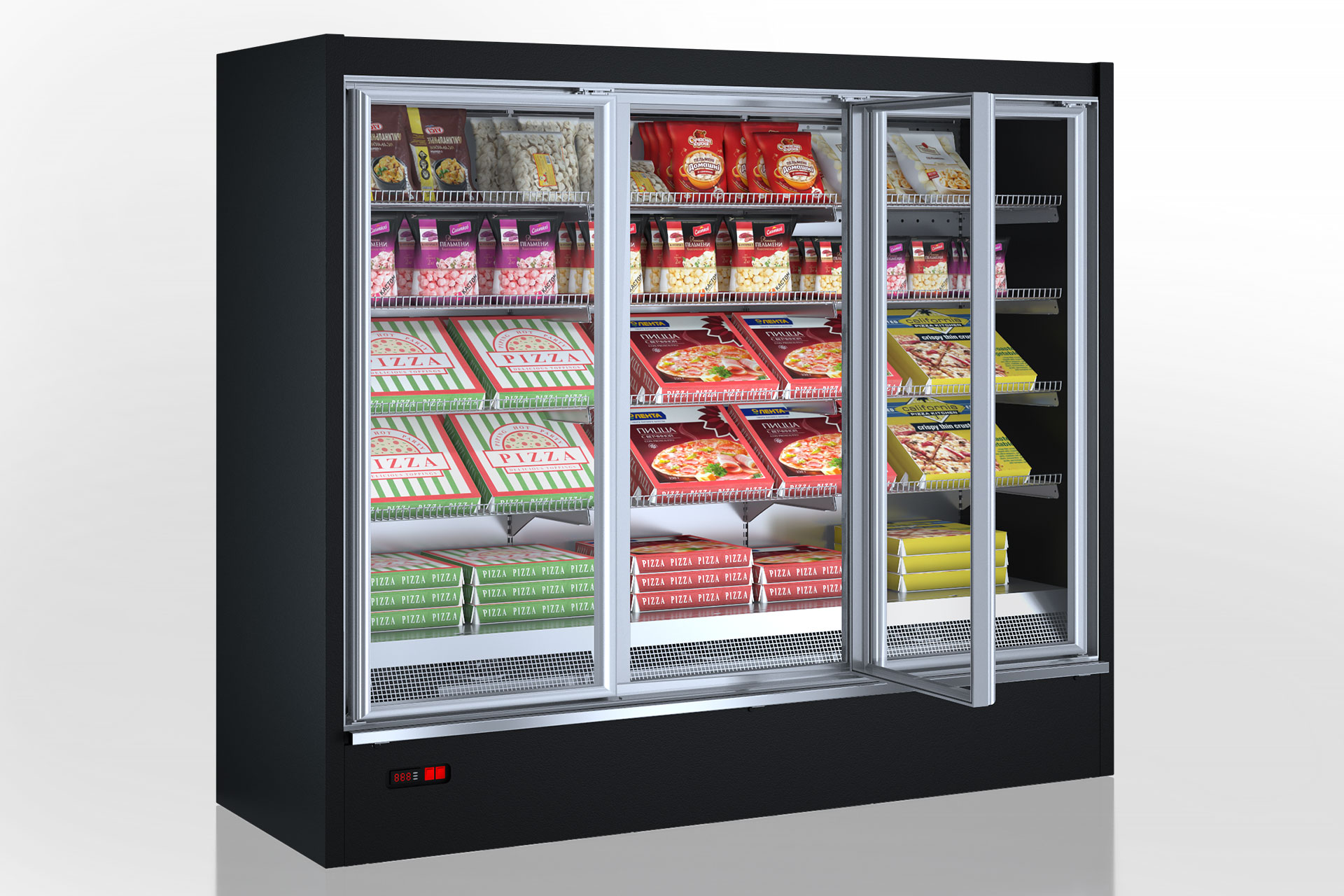 Multideck cabinets Indiana medium AV 085 LT D 210-DLM