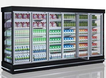 Multideck cabinets Indiana MV 070/080/090 MT D 205/220-DLM