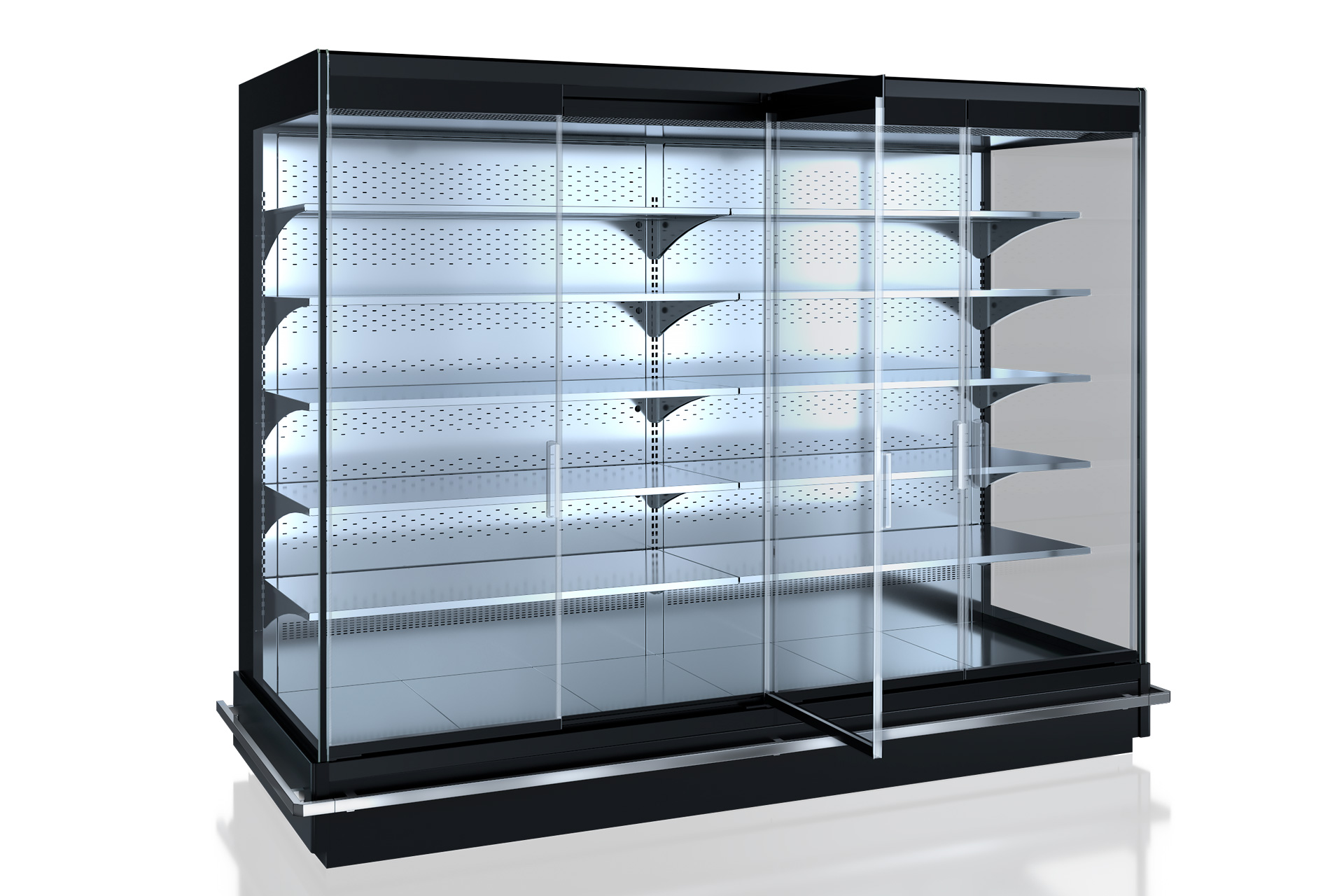 Refrigerated multideck cabinets Indiana MV 105 MT D 205-DLM