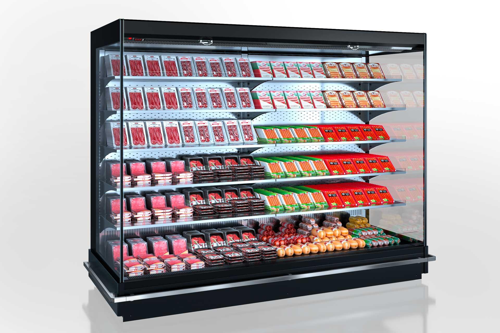 Холодильные пристенные витрины Indiana MV 105 MT O 205-DLM