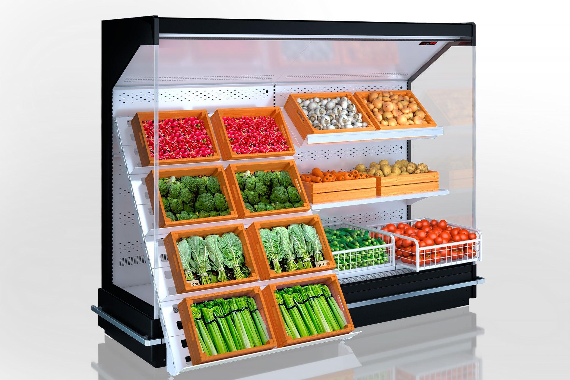 Multideck cabinets Indiana MV 080 FV O 205-DLA