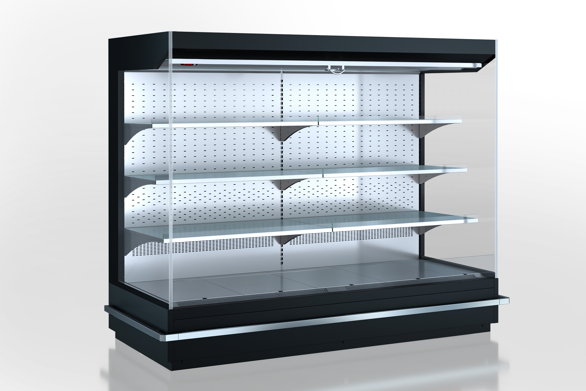 Холодильні пристінні вітрини Indiana MV 080 MT O 160-DLM