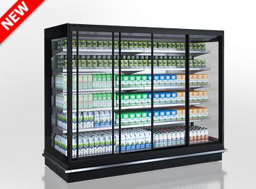 Холодильні пристінні вітрини Louisiana 5 MV 105 MT D 210-DLM