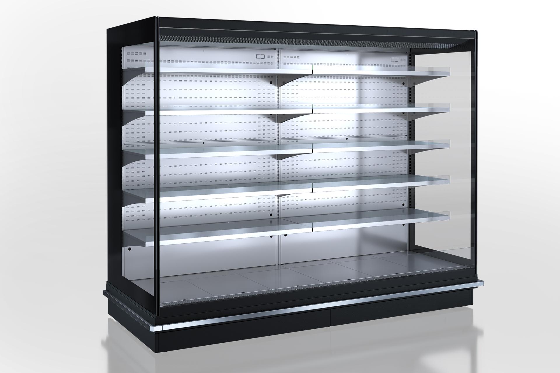 Холодильные пристенные витрины Louisiana 5 MV 105 MT О 210-DLM