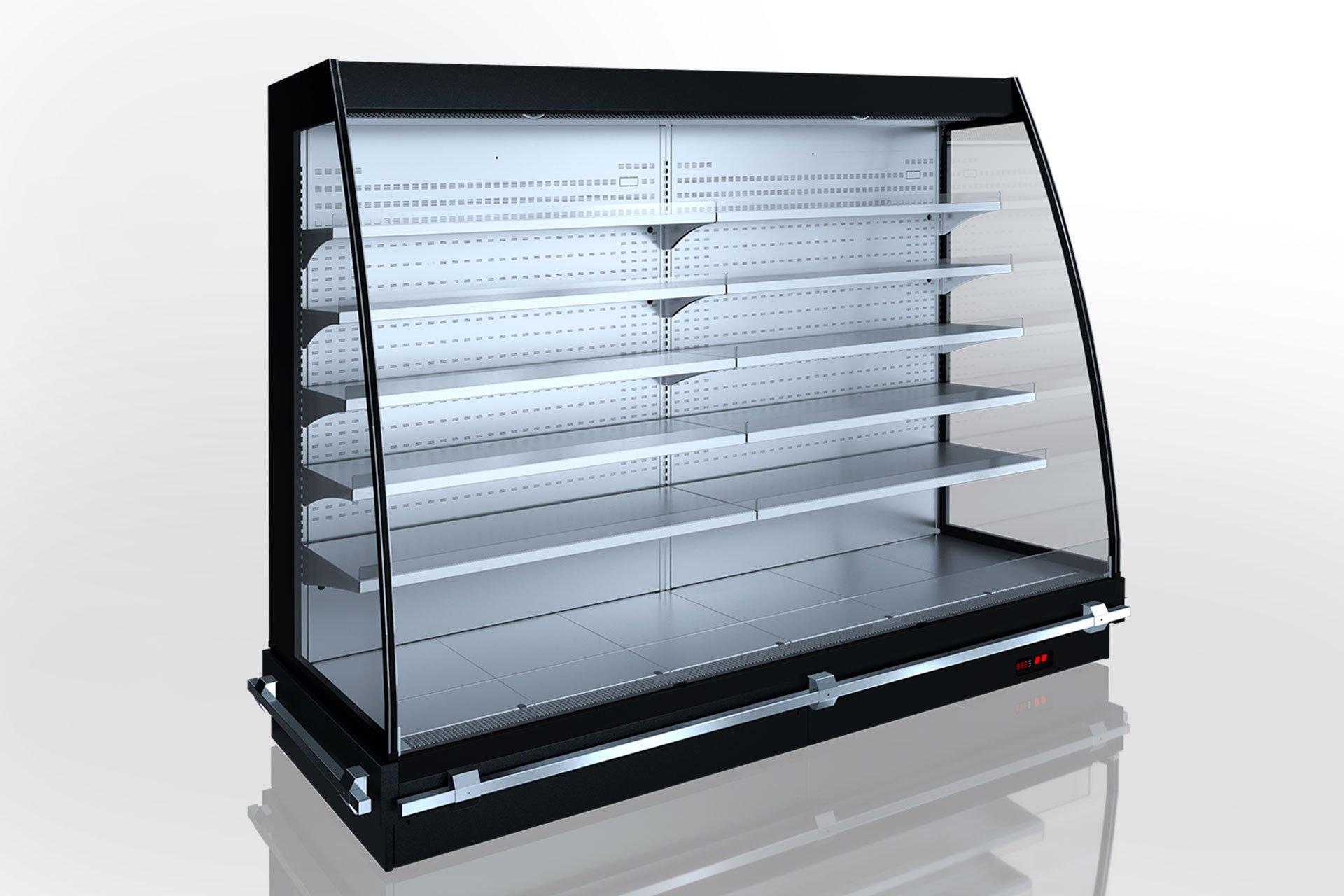 Холодильні напіввертикальні вітрини Louisiana eco MSV 095 MT O 200-DLM