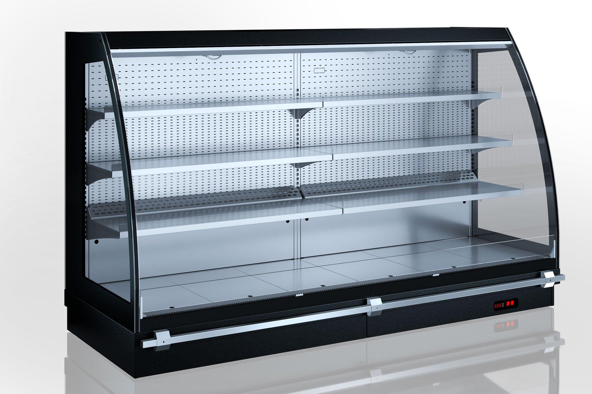 Холодильні напіввертикальні вітрини Louisiana eco MSV 095 MT O 160-DLM