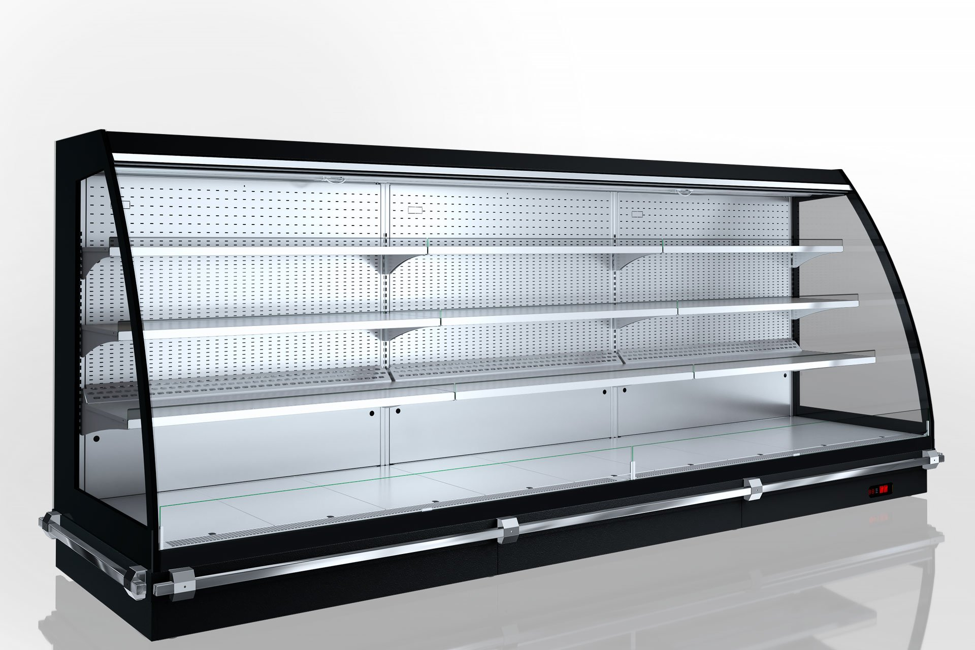 Холодильні напіввертикальні вітрини Louisiana eco MSV 105 MT O 160-DLM