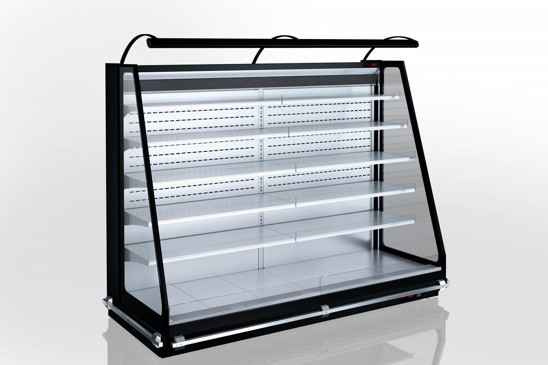 Холодильні напіввертикальні вітрини Louisiana eco MSV 115 MT O 200-DLM